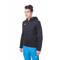 ARENA HOODED F/Z HALF-QUILTED JACKET M (001398)