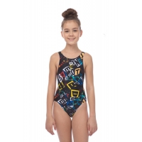 ARENA ROWDY JR TECH BACK ONE PIECE L (001770)