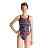 ARENA MULTICOLOR STRIPES CHALLENGE BACK (002828-1)