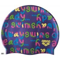 Шапочка силиконовая детская Arena Print Jr (94171)