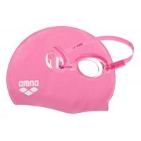 Очки+шапочка для плавания Arena ARENA POOL JR SET (92423)