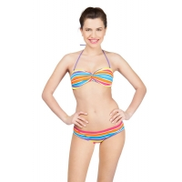 Купальник Arena Stripes Twisted Bandeau